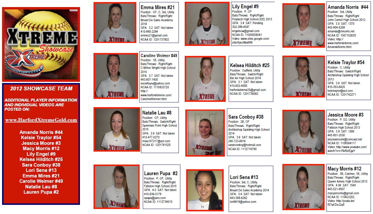 new team flyer quick reference to