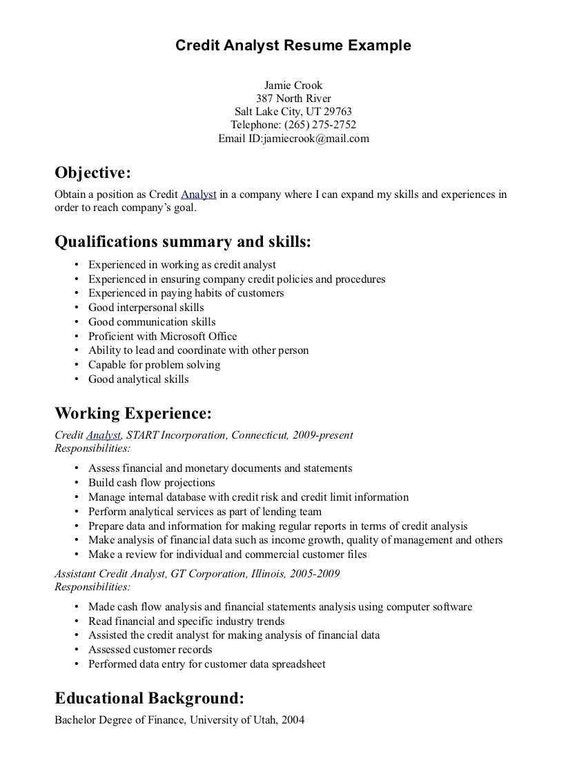 Sql Data Analyst Resume Sample Data Analysis Resume Samples Resume Summary Best Resume