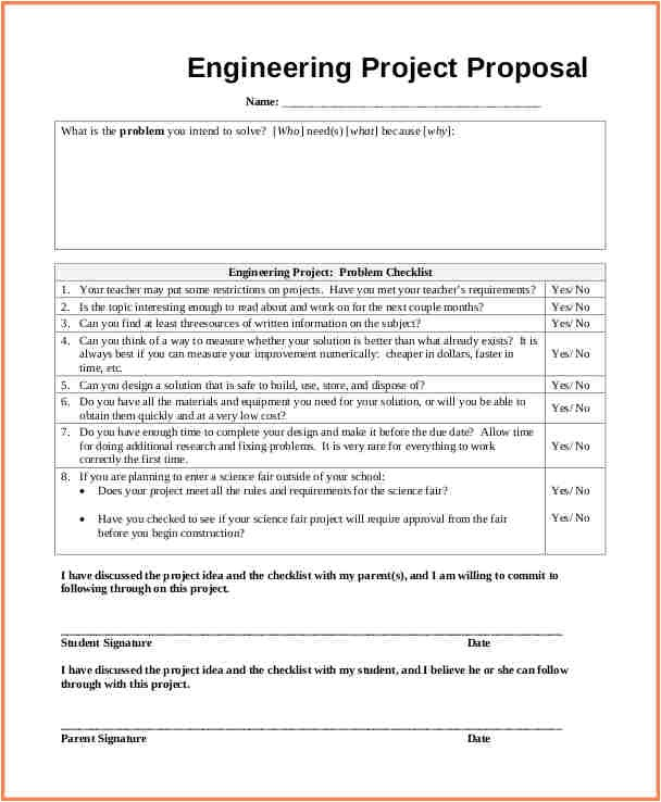 engineering proposal template simple guidance for you in engineering proposal template