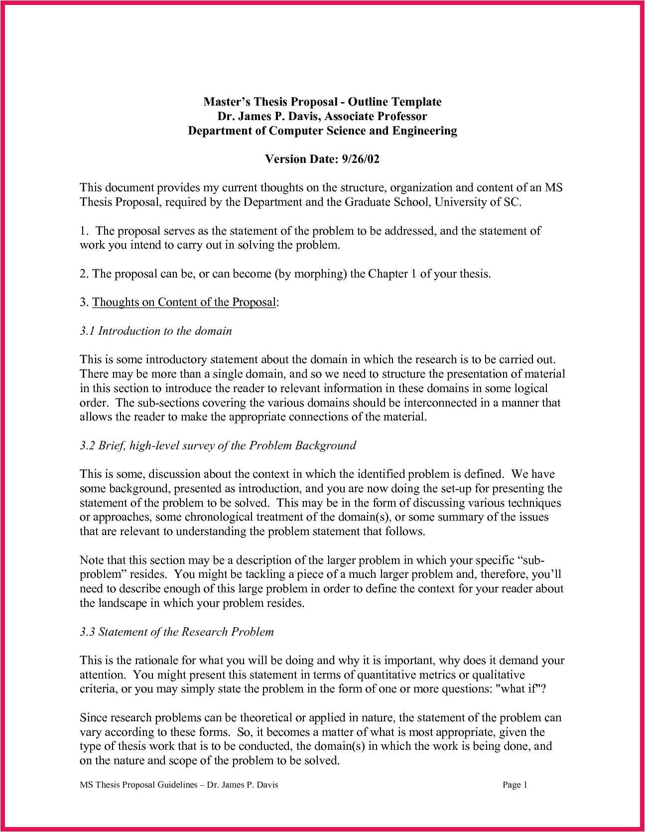 phd thesis proposal guidelines