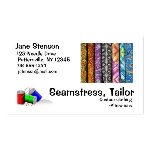 tailor businesscards