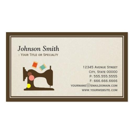 tailor business card templates