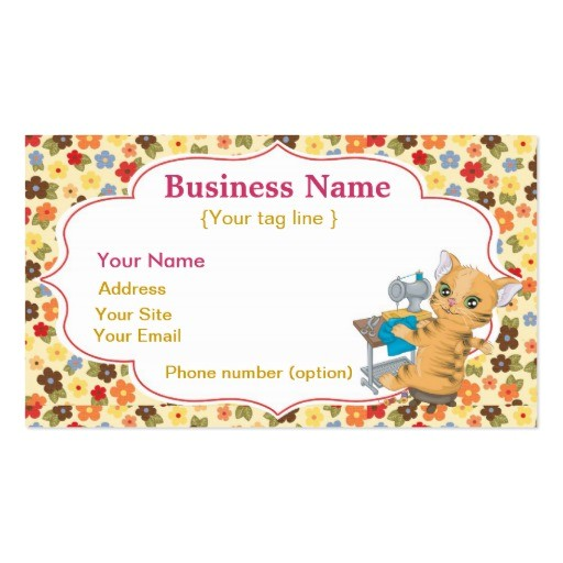 sewing business card template 240218545690815983
