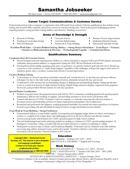 resume writing tutorial writing a targeted resume