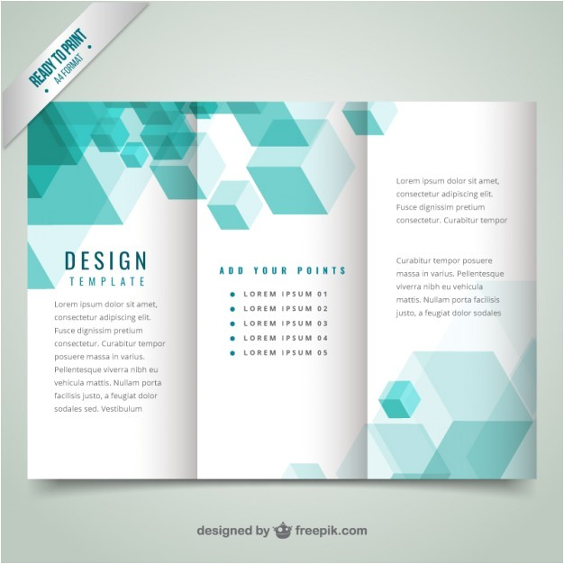 geometrical modern brochure template 802612
