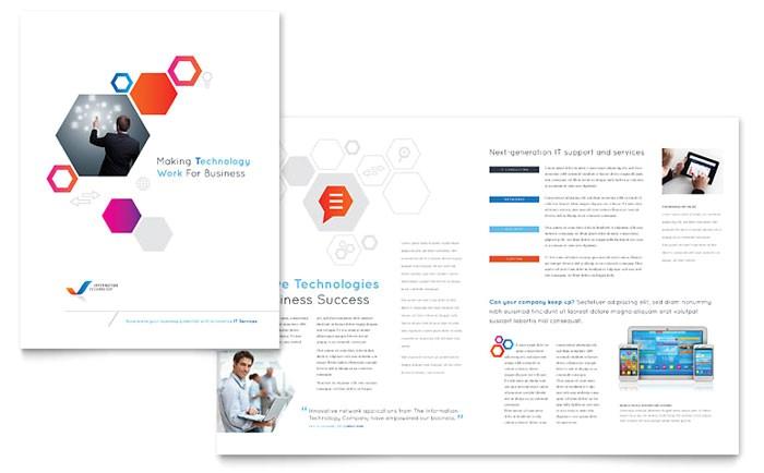 free brochure templates download