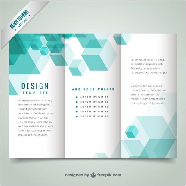 geometrical modern brochure template 802612
