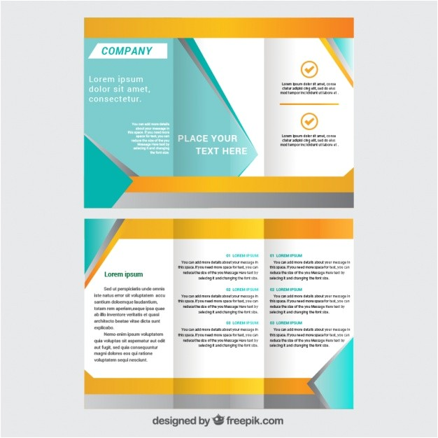 trifold brochure template 962196