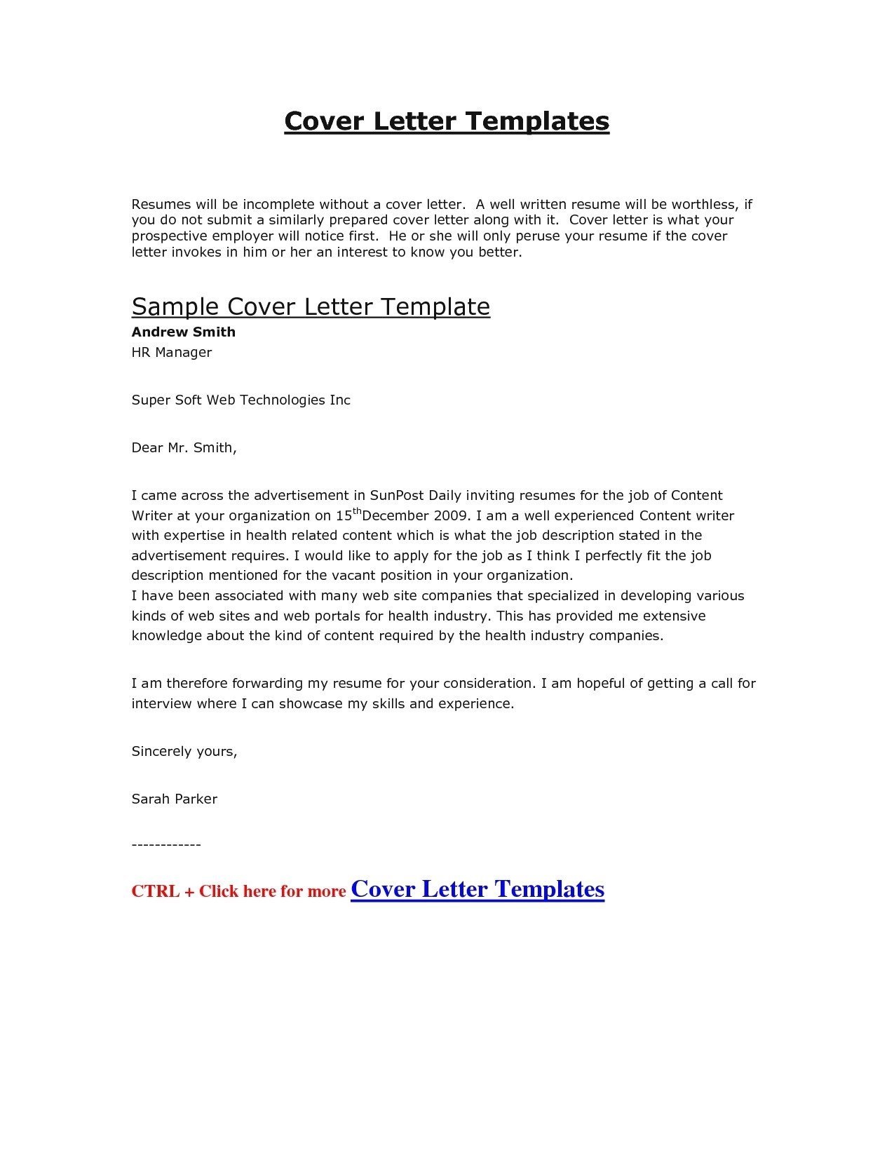 Template for Cover Letter and Resume Resume Cover Letter Template 2017 Learnhowtoloseweight Net