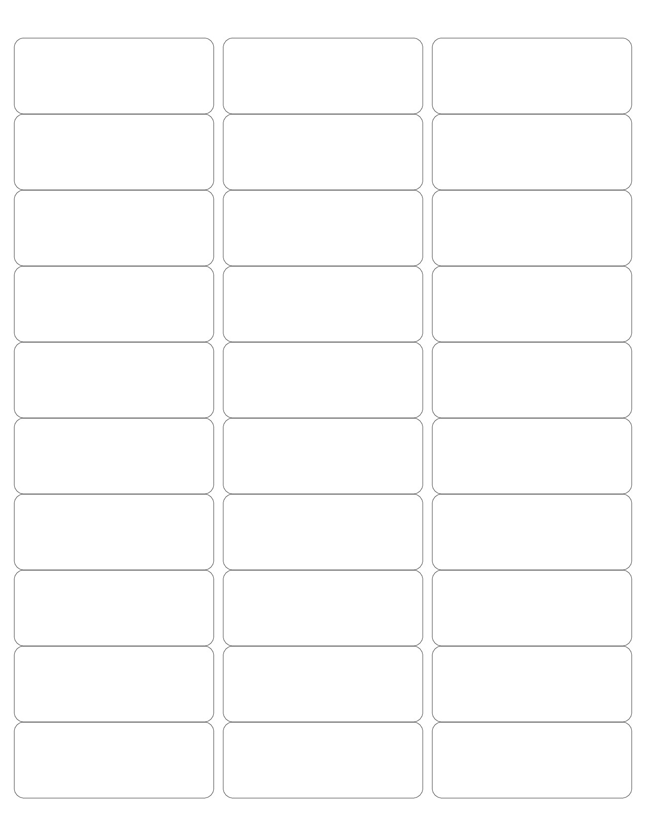 Template for Printing Labels Avery Free Avery 5160 Template for Word Calendar Template