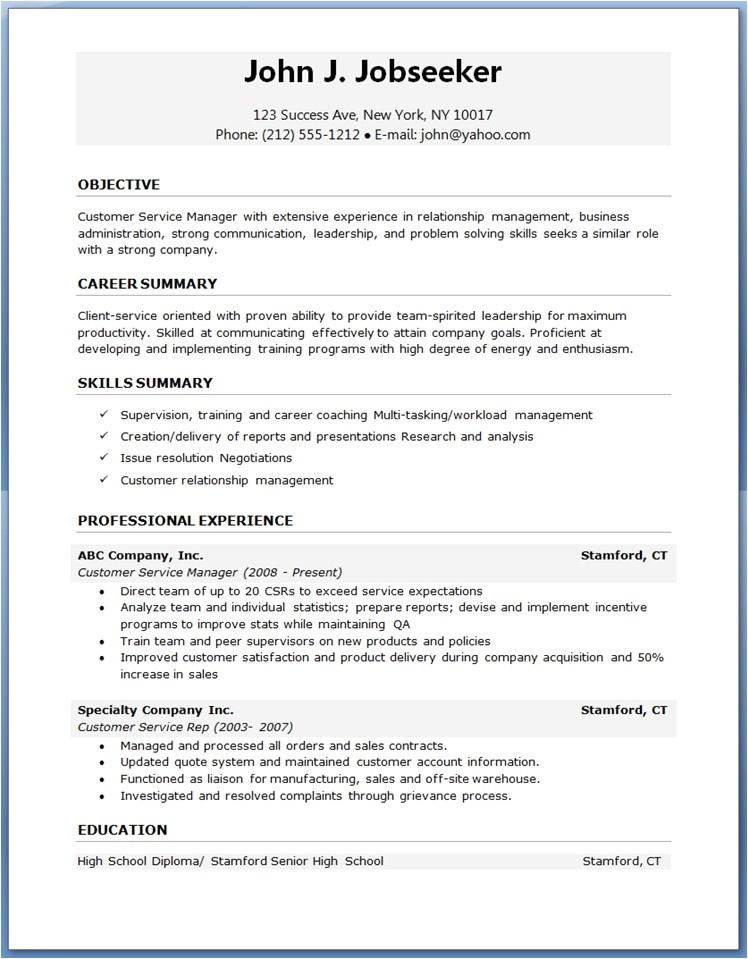 Template Resume Word Free Download Download Resume Templates Resume Template Download Free