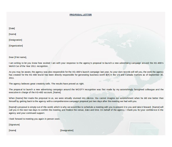 Templates for Proposals In Word 31 Free Proposal Templates Word Free Premium Templates