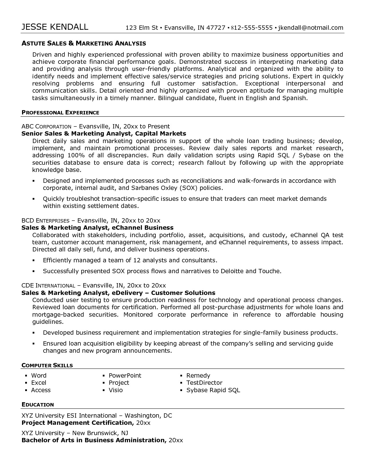 Test Manager Resume Template 12 Unique Test Manager Sample Resume Resume Sample Ideas