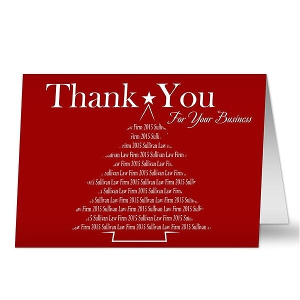 christmas thank you cards 2017