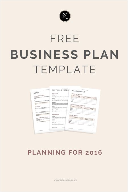 The Perfect Business Plan Template Prepare for 2016 with This Free Business Plan Template