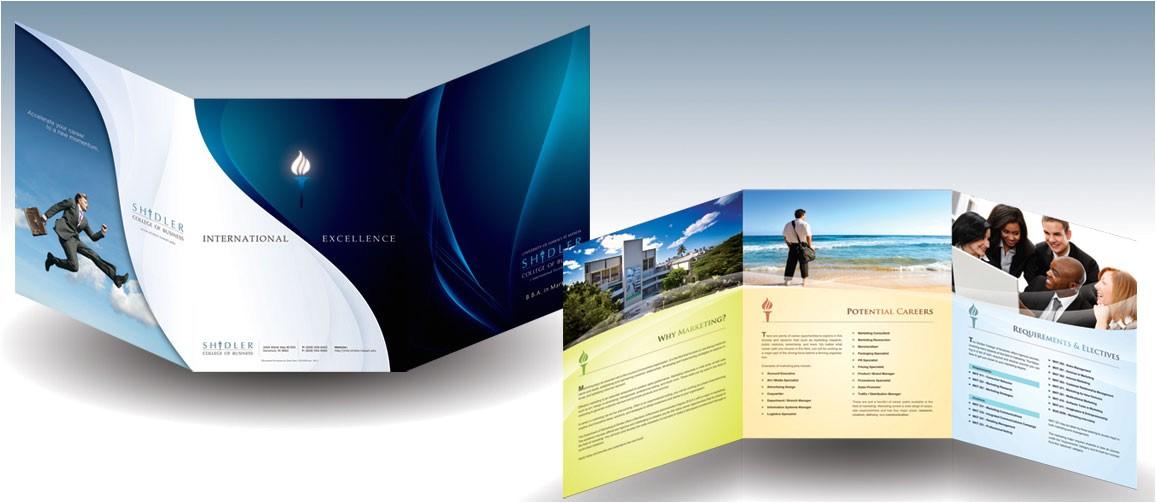 20 simple yet beautiful brochure design inspiration templates