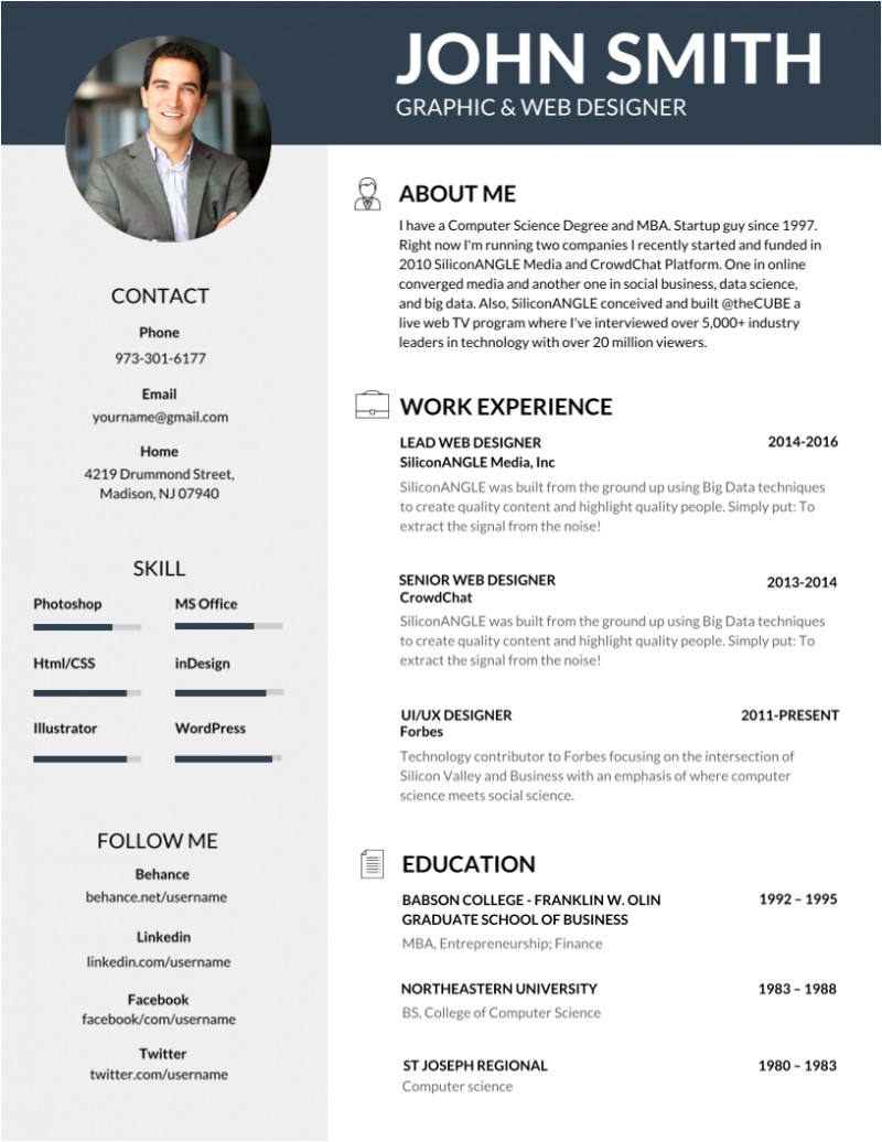 Top It Resumes Samples 50 Most Professional Editable Resume Templates for Jobseekers