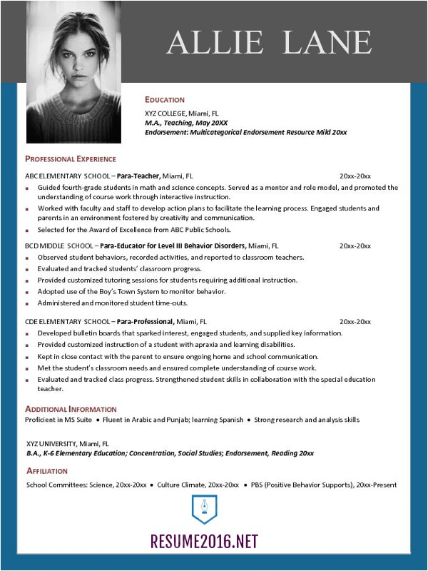 Top Resume Template Resume Templates 2016 which One Should You Choose