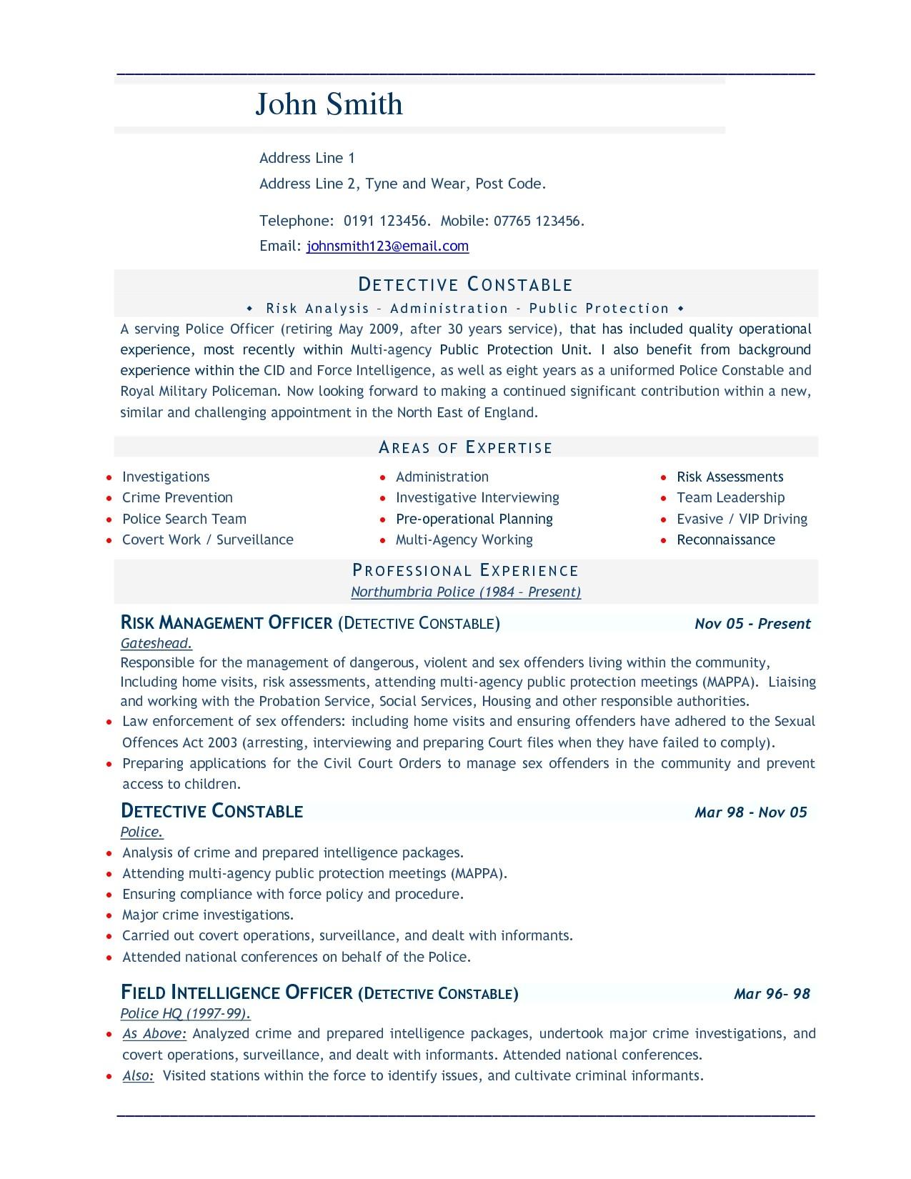 best resume words template