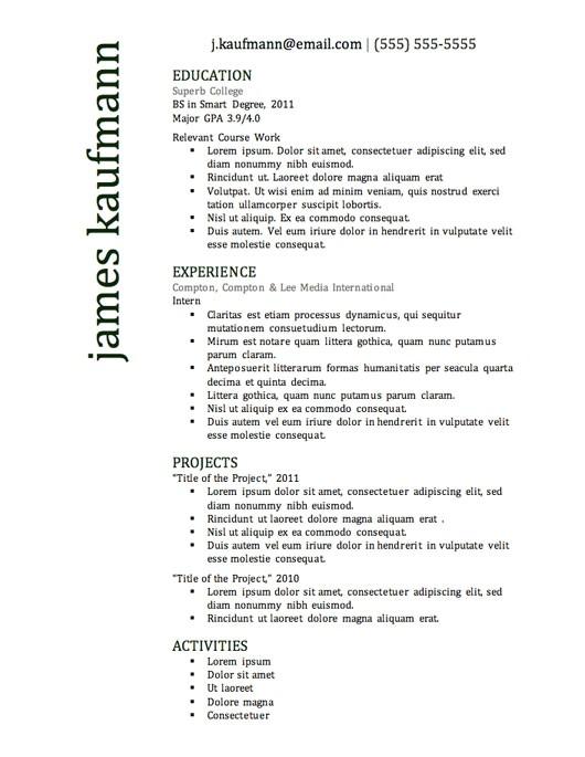 top 10 resume samples