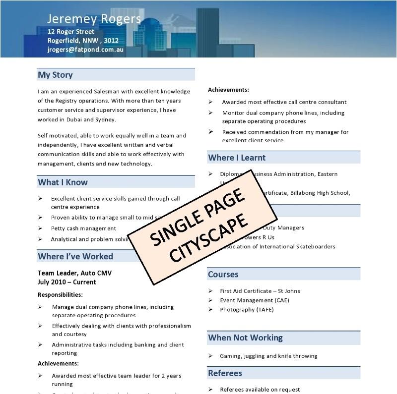 Tradesman Resume Template Diy Resume Templates Absolute Resume