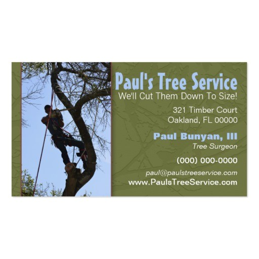 tree service business card 240870024318052456