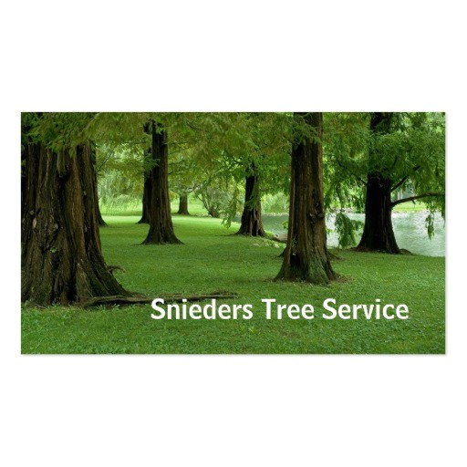 tree trimmer service business card templates 240982963903125166