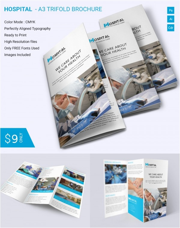 brochure templates pdf free download
