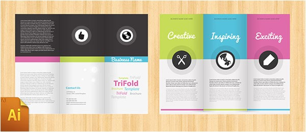 free psd indesign brochure templates