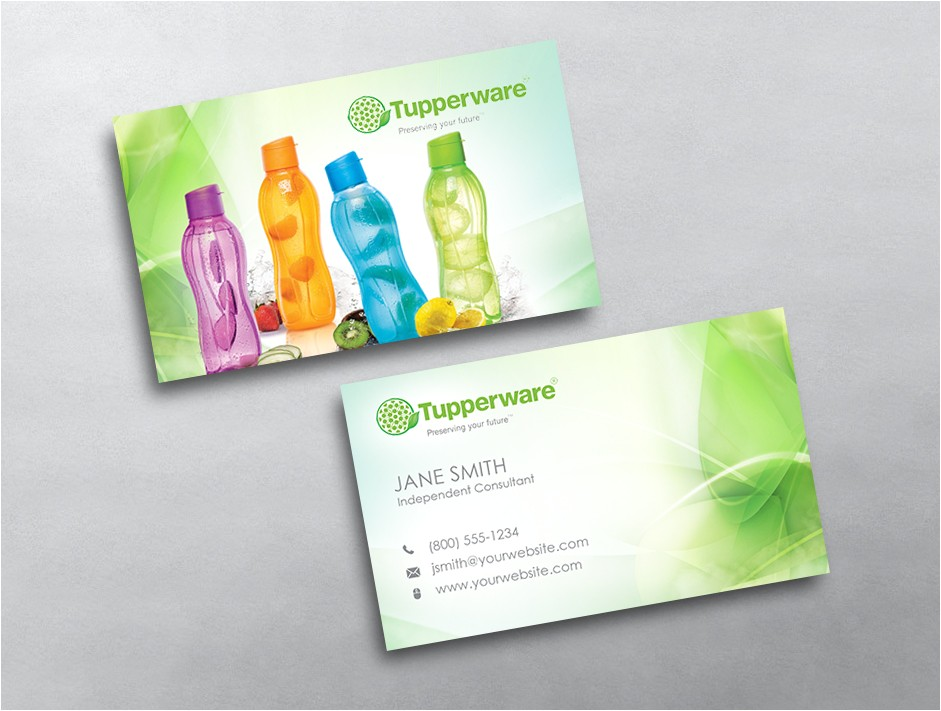 tupperware business card 07