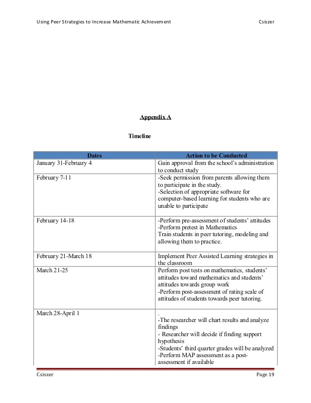 final using peer tutoring strategies to increase mathematic achievement
