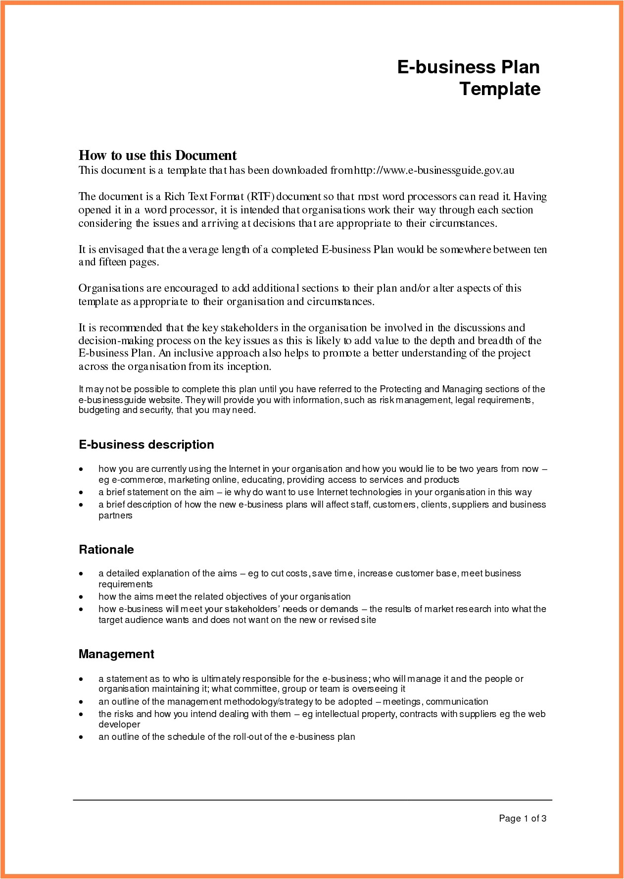 business plan format template with business plan template and guide