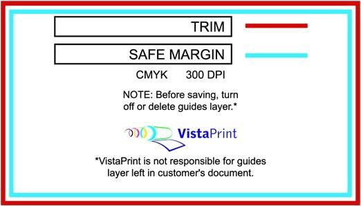 vistaprint brochure template