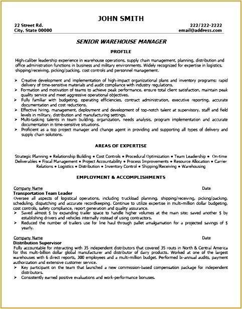 Warehouse Resume Templates 7 Banking Customer Service Resume Template Free Samples