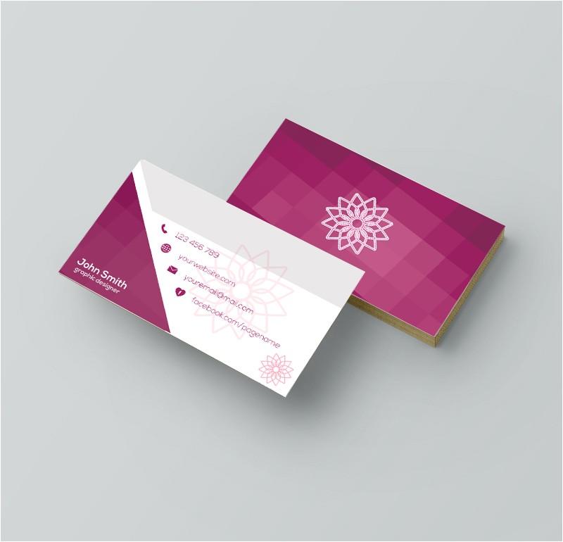 business card template design graphic designer