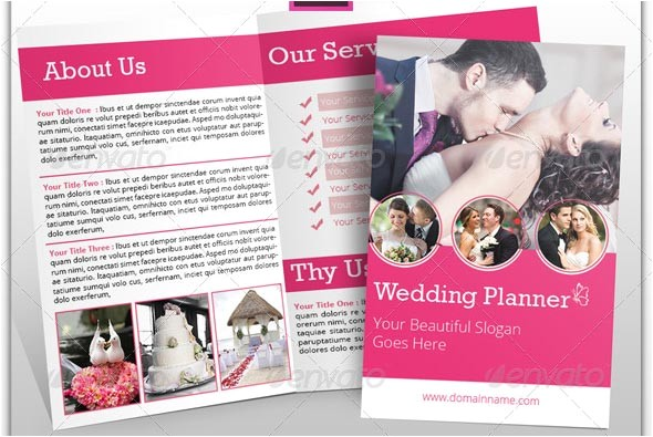 20 beautiful wedding brochure templates