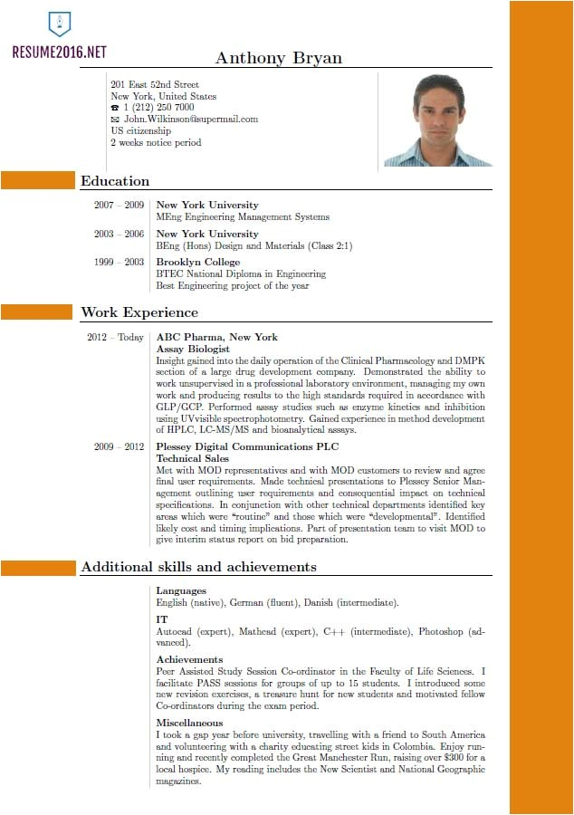 What is the Best Template for A Resume Best Resume format 2016 which One to Choose In 2016