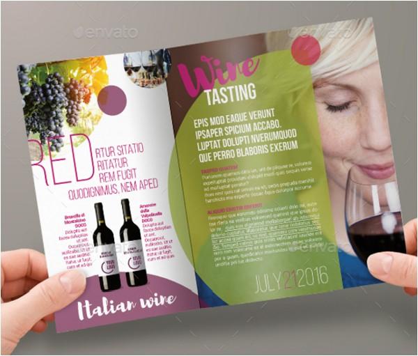 Wine Brochure Template Free 16 Wine Brochure Templates Free Psd Ai Vector Eps