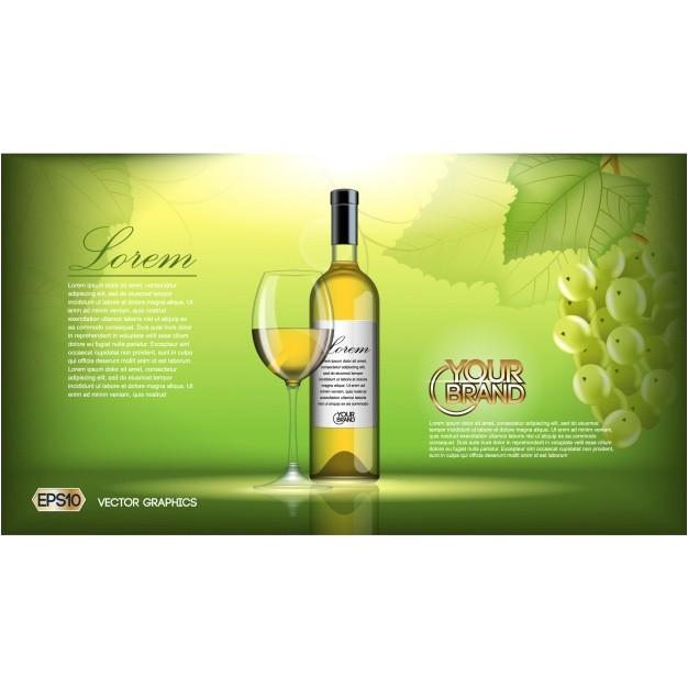 Wine Brochure Template Free Wine Brochure Template Vector Free Download