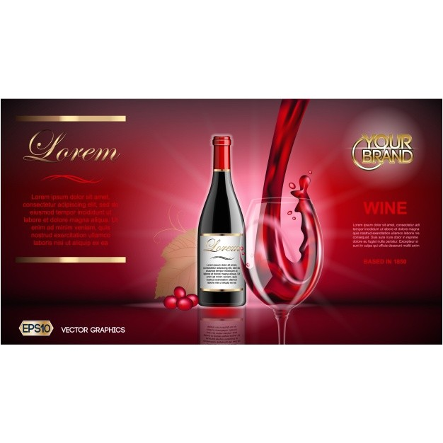 wine brochure template 1048700