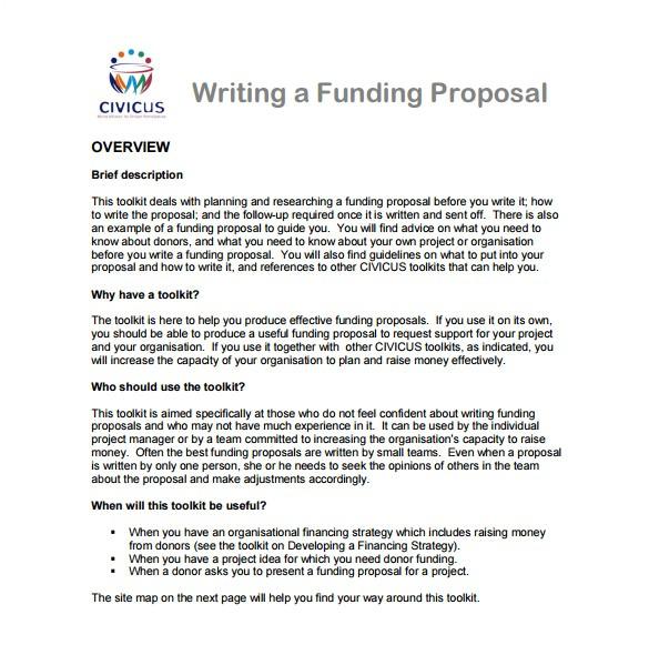 writing proposal template
