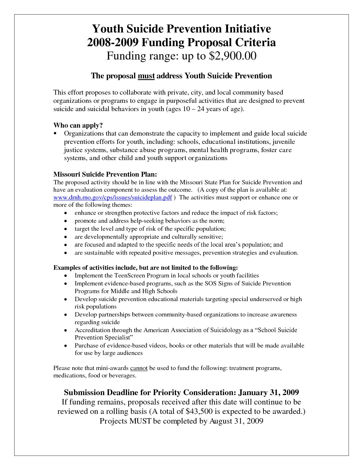 Youth Program Proposal Template 8 Best Images Of Sample Program Proposal Template Youth