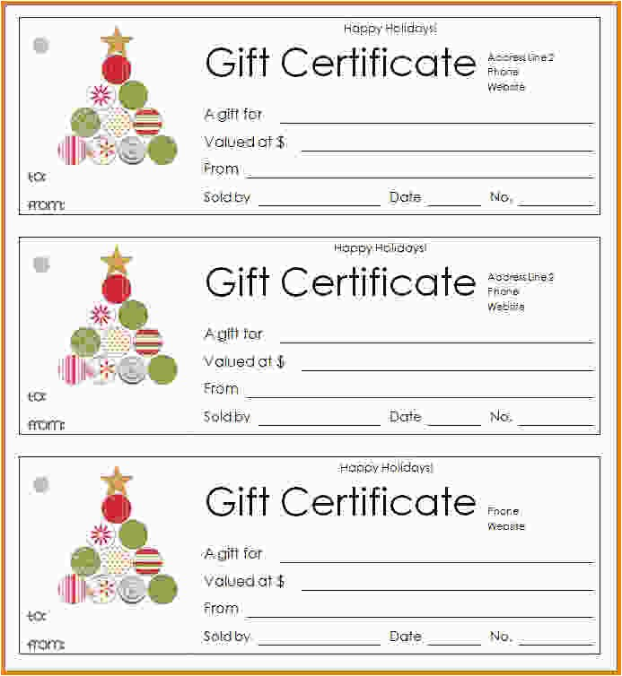 100 Gift Certificate Template 31 Gift Certificate Blank Template 10 Best Images Of