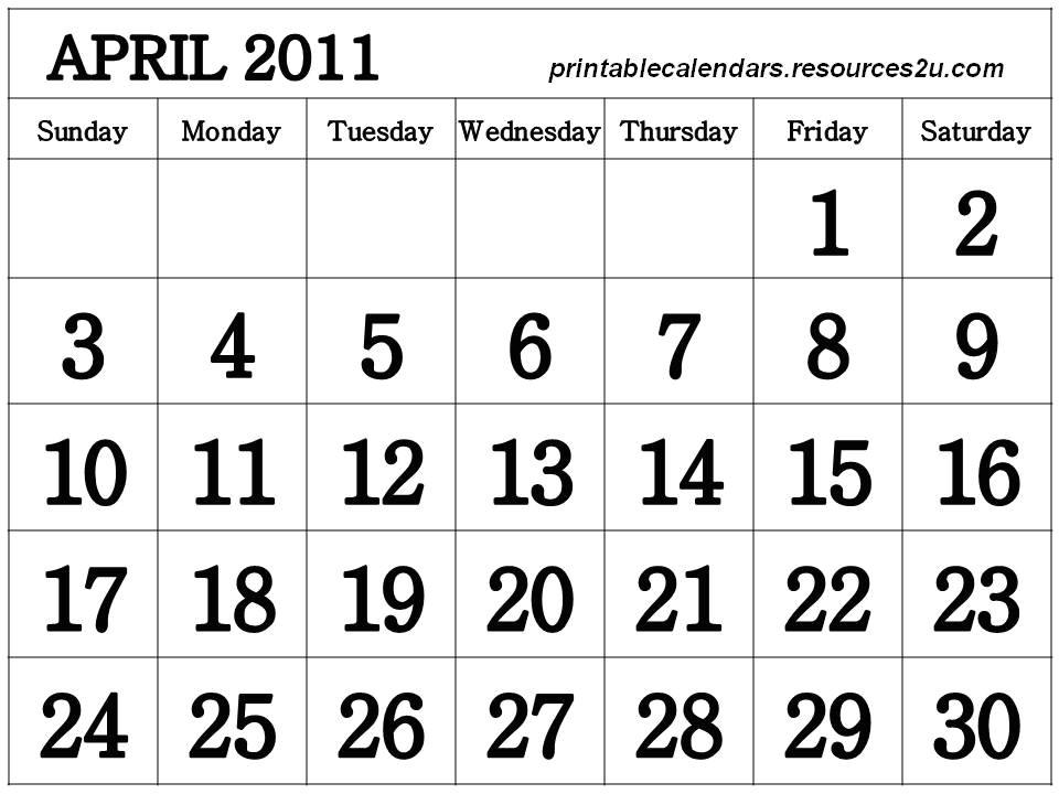 18 months calendars free
