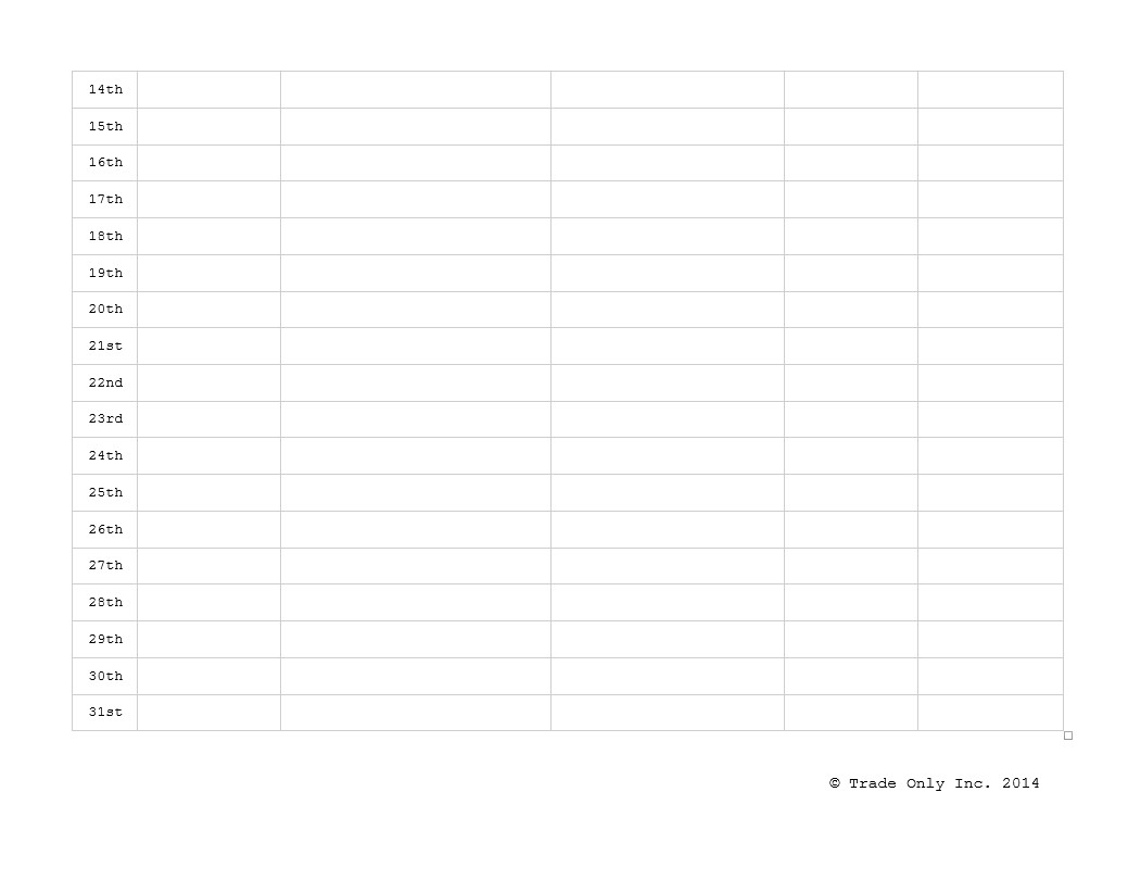 18 Month Calendar Template Search Results for Printable 18 Month Calendar Page 2