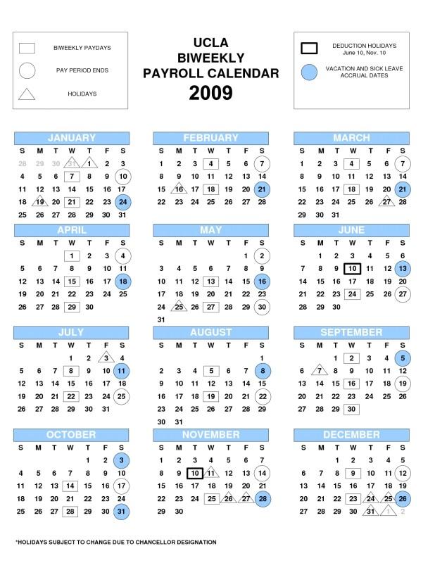 biweekly payroll calendar 2017