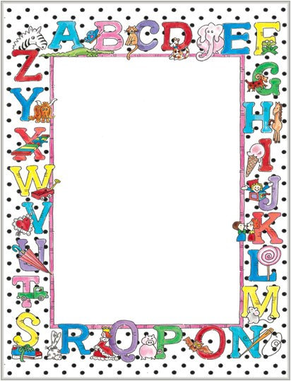 border template for 8 5x11 5 paper
