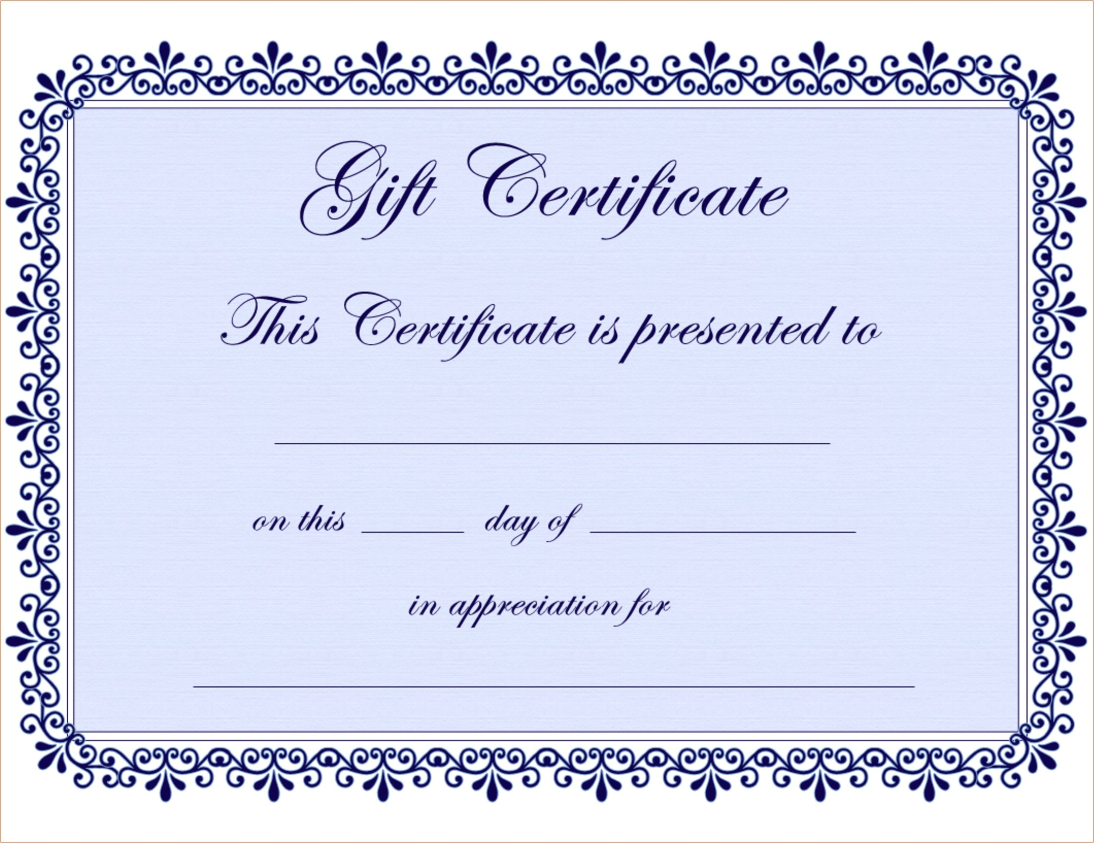 adams gift certificate template download