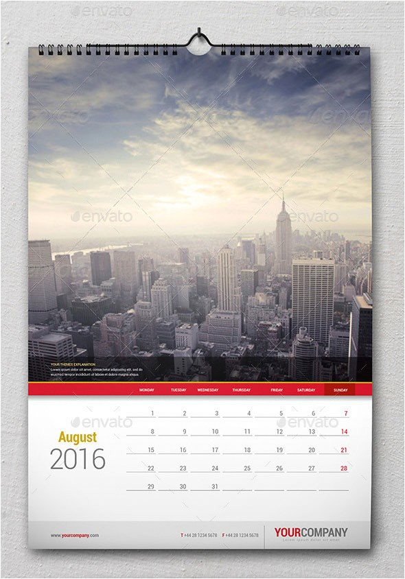 21 best calendar templates for 2016