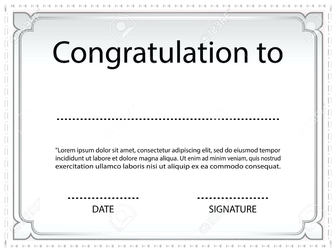 Auction Certificate Templates Free Hole In One Certificate Template Free Gallery